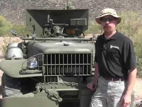 37mm Antitank Gun on a Dodge Weapons Carrier – M6