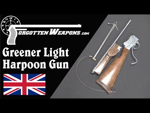 Greener Harpoon Gun – Yes, the One From Jaws