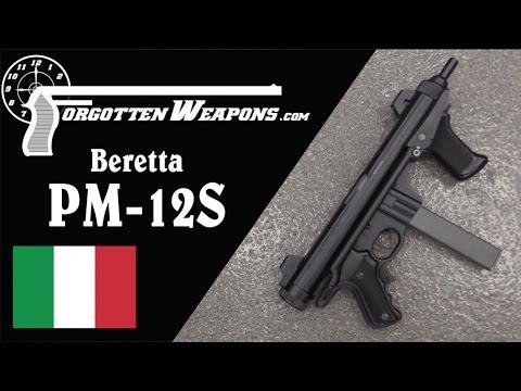 The Beretta PM-12S Submachine Gun