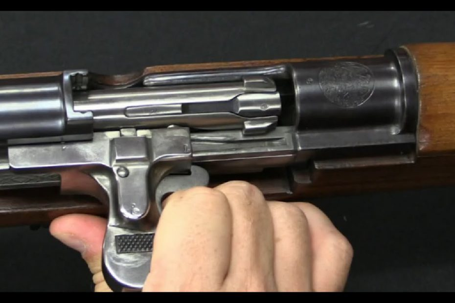 M1908 Mondragon Semiauto Rifle