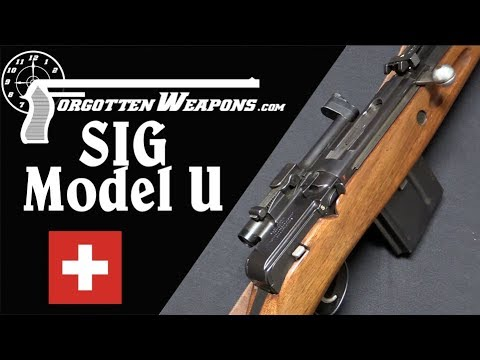 SIG's World War Two Semiauto Rifle: The Model U
