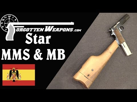 Star Pistol-Carbines: Model MMS and Model MB