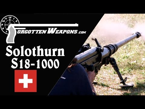Solothurn S18-1000: The Pinnacle of Anti-Tank Rifles