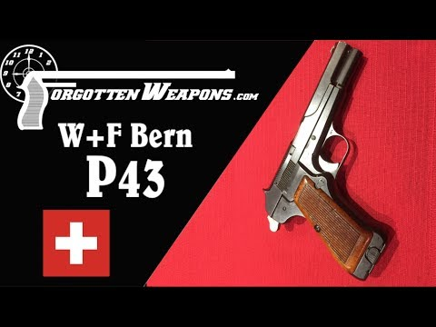 W+F Bern P43: A Swiss Take on the Browning High Power