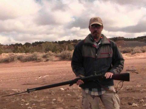M1886 Lebel Rifle at the Range