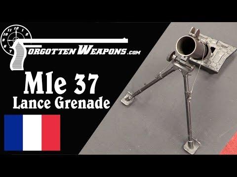 France's Super-Light 50mm Modele 37 Grenade Launcher