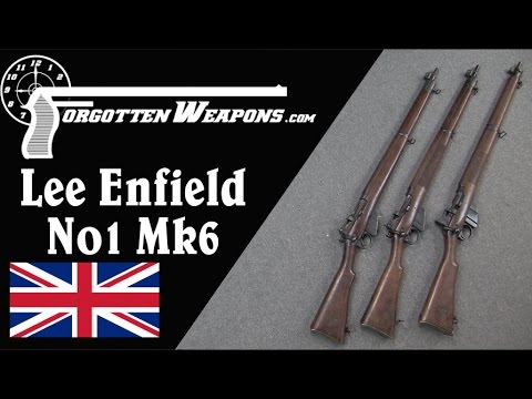 The Short-Lived No1 Mk6 SMLE Lee Enfield