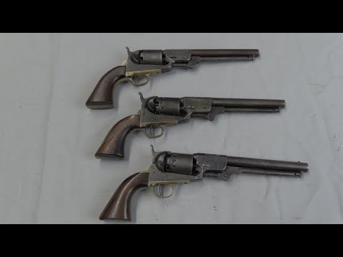 Confederate Revolvers: Leech, Rigdon, & Ansley