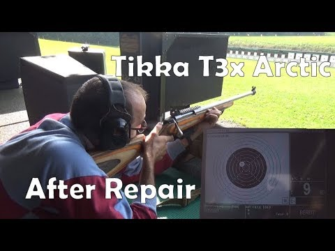 Tikka T3x Arctic / C19 Canadian Rangers Rifle Range Time Take Two