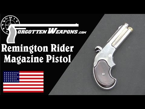 Remington-Rider Magazine Pistol