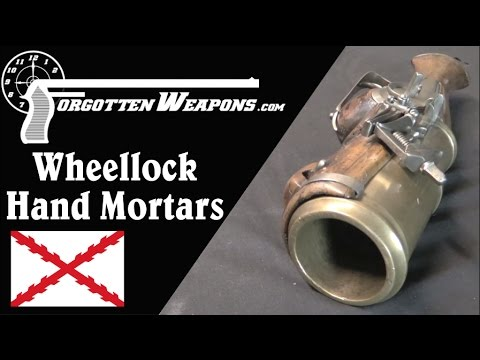 Massive Wheellock Hand Mortars