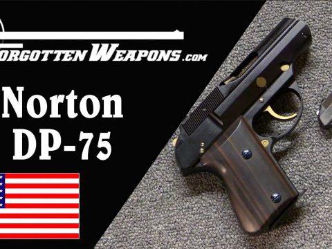 Norton DP-75: Titanium Plus German Police Pistol