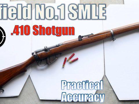 SMLE Lee Enfield No.1 [.410ga Shotgun] – Close Range Practical Accuracy