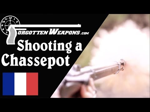Shooting the Mle 1866 Chassepot