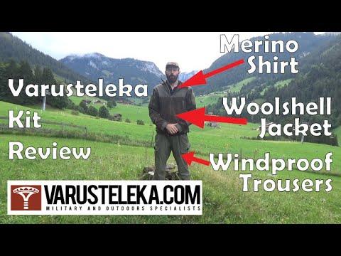 Off Topic: Varusteleka Särmä Kit Review – TST Woolshell Jacket, Merino Polo, Windproof Trousers