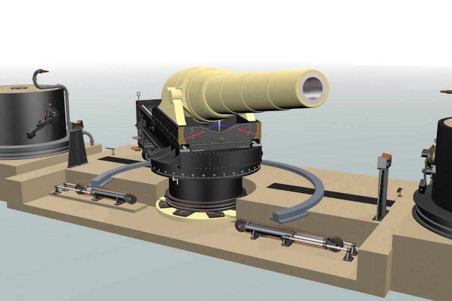 Armstrong 100-ton gun (WIP)