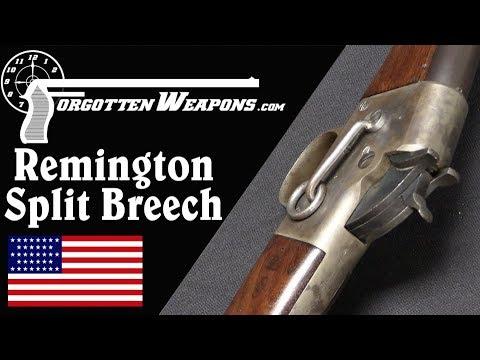 Remington Split Breech – Before It Was Famous