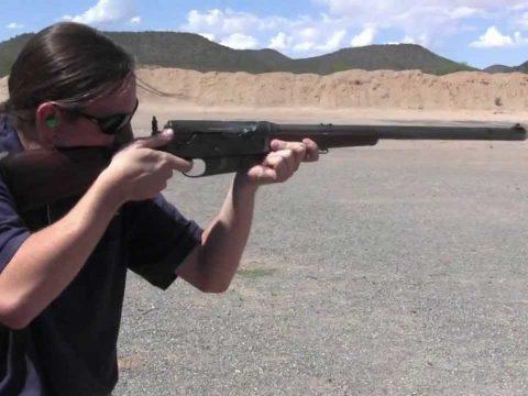 Remington Model 8 (in .25 Remington)