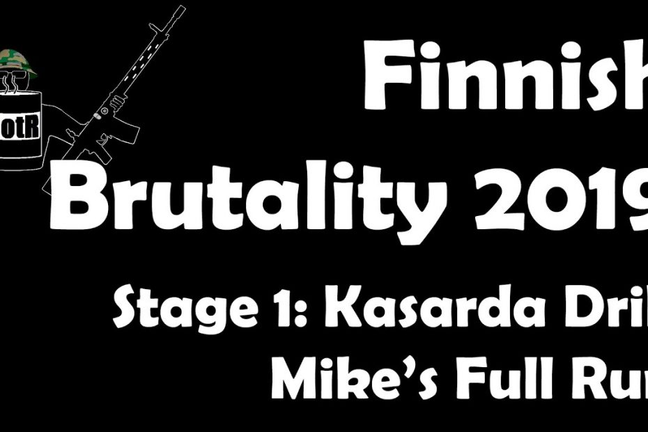 Stage 1 – Mike's (Bloke's) complete Run | Finnish Brutality 2019