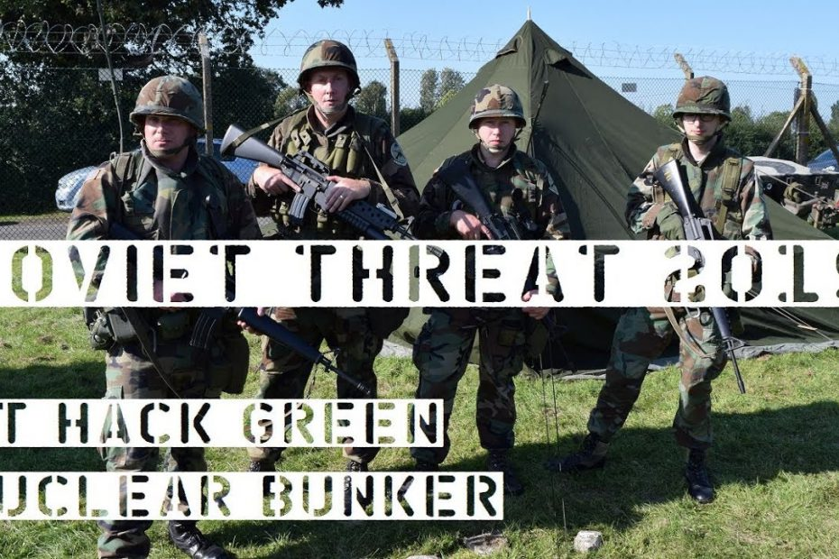 Soviet Threat 2019 – Cold War Event at a UK Nuclear Bunker