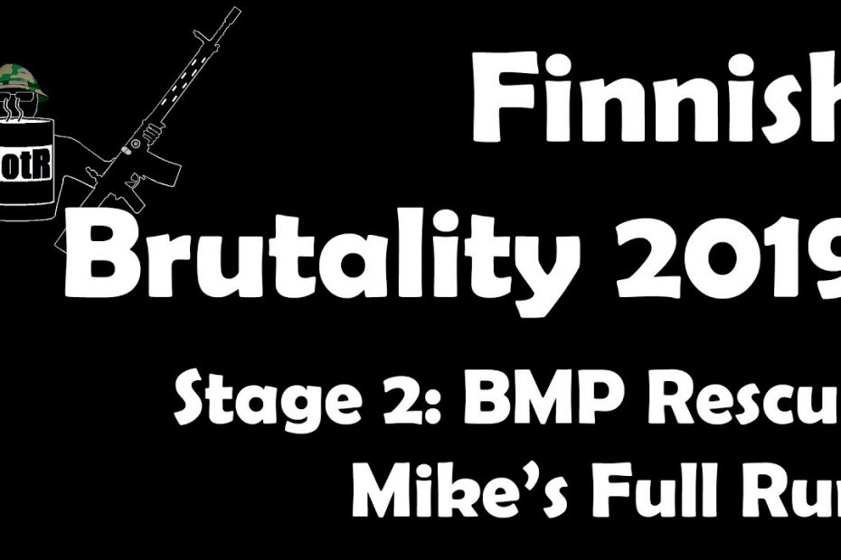 Stage 2 – Mike's (Bloke's) complete Run | Finnish Brutality 2019
