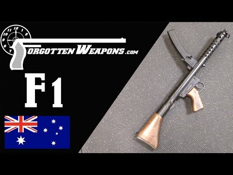 Sterling Meets Owen: The Australian F1 Submachine Gun