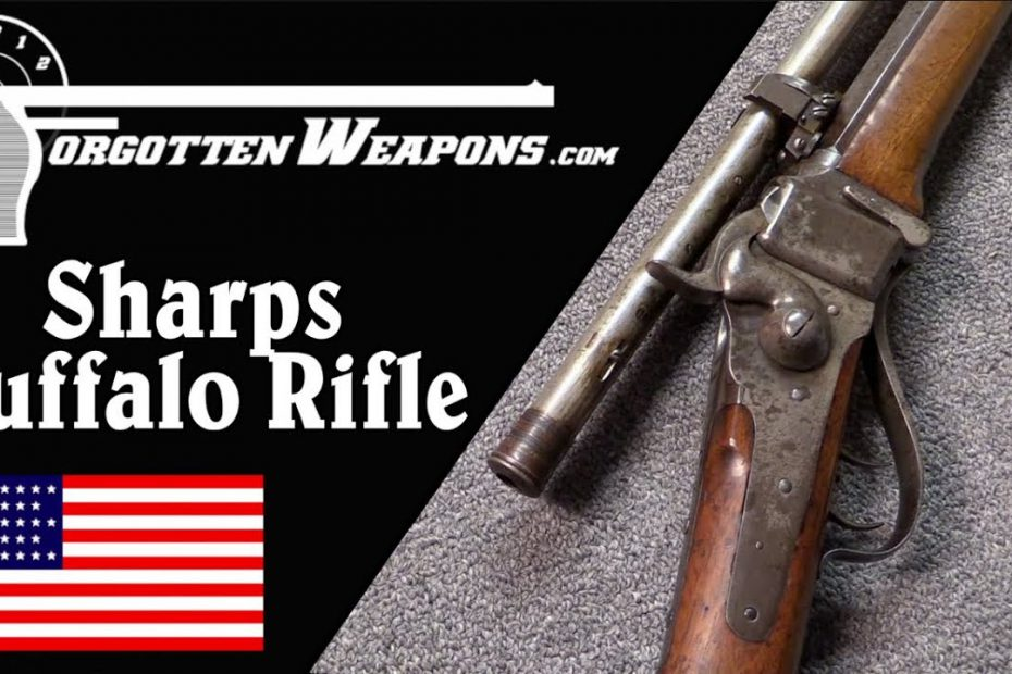 Scoped Sharps 1874 Buffalo Rifle