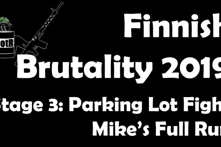 Stage 3 – Mike's (Bloke's) complete Run | Finnish Brutality 2019