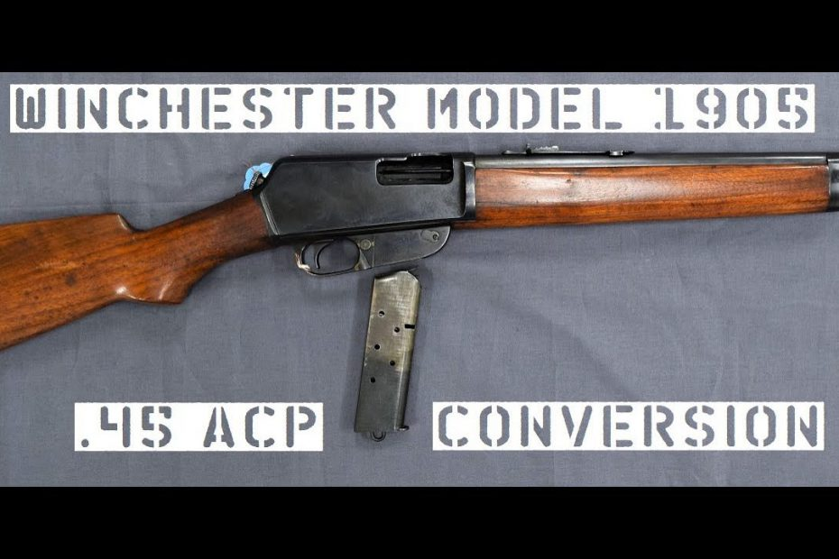 TAB Episode 55: Winchester Model 1905 .45ACP Conversion