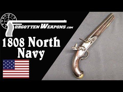 Model 1808 US Navy Pistol by Simeon North