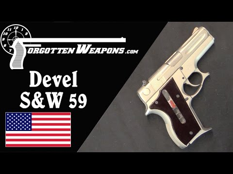 A Connoisseur's Pistol: Devel's Full House S&W 59 Conversion