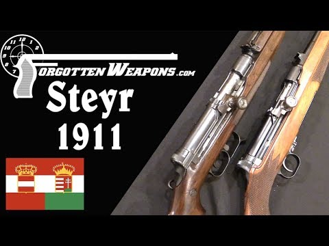 Steyr Model 1911 Semiautomatic Trials Rifles