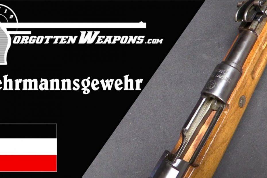 Wehrmannsgewehr – German Shooting Competition After WW1