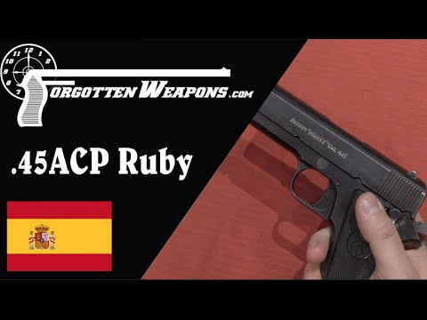 Early 45 ACP Ruby