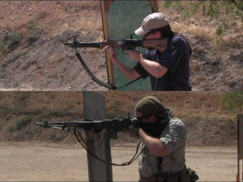 FG-42 vs BAR in the 2 Gun Action Challenge Match
