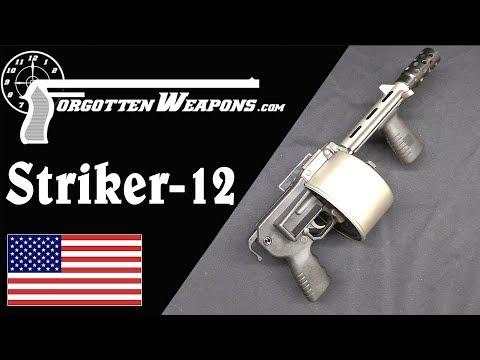 """Striker 12: Shotgun Turned """"Destructive Device"""""""