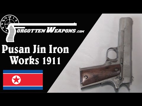 Korean Pusan Iron Works 1911 Copy