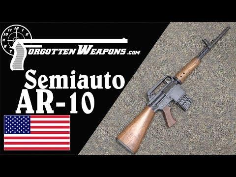 Semiauto Portuguese AR-10 on a Sendra Receiver