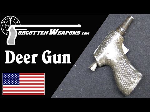 The CIA's New Liberator: the 9mm Deer Gun