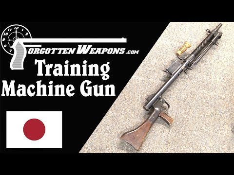 Japanese WW2 Training Machine Gun