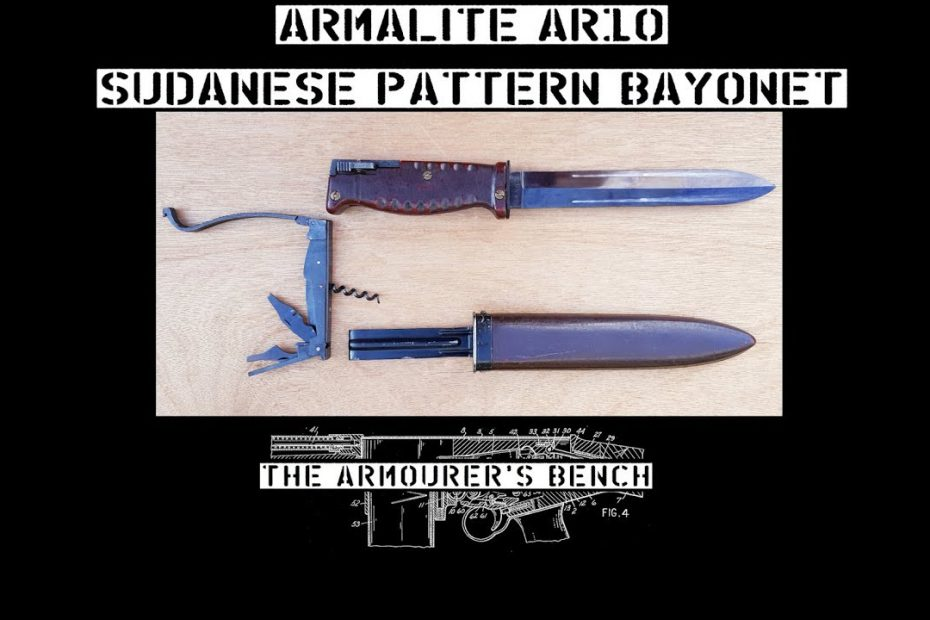 Surplus Zone: ArmaLite AR-10 Sudanese Bayonet