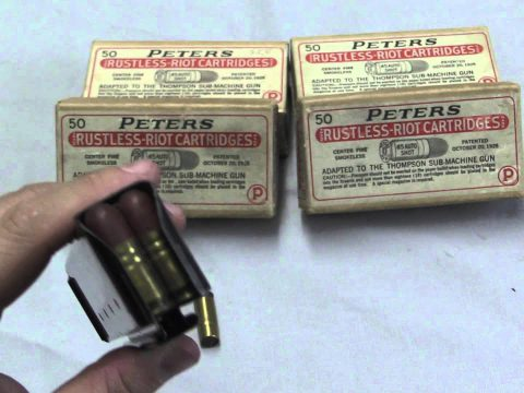 Thompson Riot Ammo