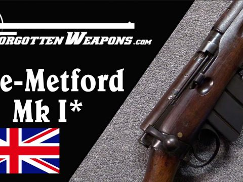 Lee Metford MkI*: Britain's First Repeating Rifle (Almost)