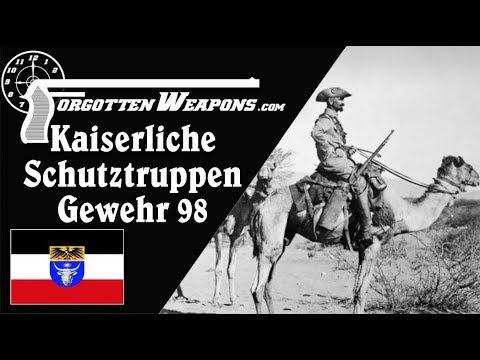 Kaiserliche Schutztruppen G98 – for the German Camel Corps