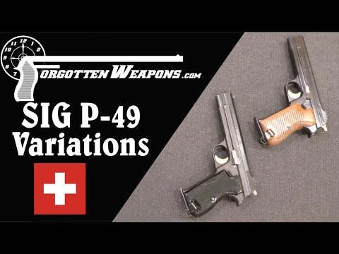 Military SIG P-49 Variations