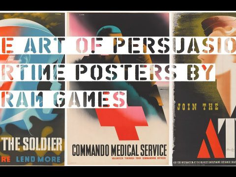 The Art of Persuasion – Abram Games Exhibition at The National Army Museum