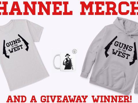 Channel Merchandise!!! And A Giveaway Winner!