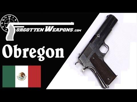 Systema OBREGON: The Mexican Rotating-Barrel 1911