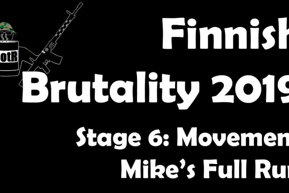 Stage 6 – Mike's (Bloke's) complete Run | Finnish Brutality 2019