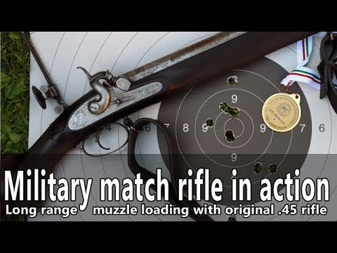 Shooting the original British small bore muzzle loading military match rifle